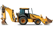 10-59 HP Backhoe Loader in Albuquerque