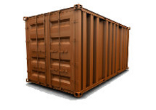 40 Ft High Cube Storage Container