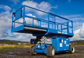 rough terrain scissor lift rental