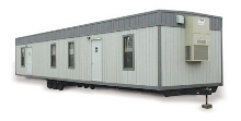 8' x 20' Office Trailer in Waltham